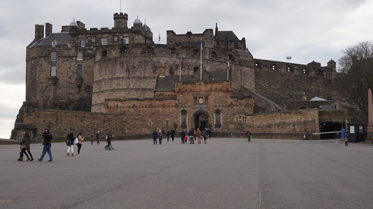 Edinburgh Castle Locations Film Edinburgh