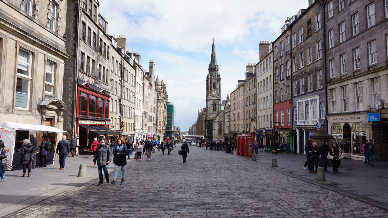 Royal Mile Locations Film Edinburgh