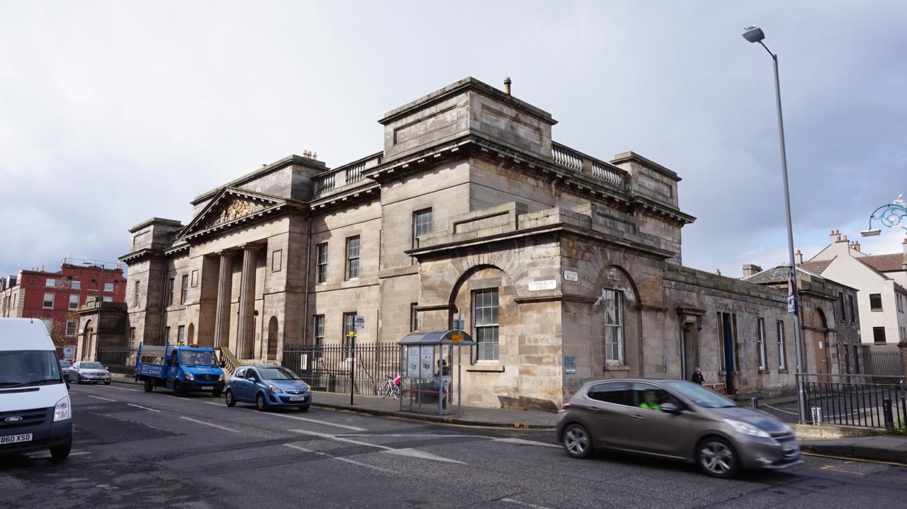 Leith Customs House Locations Film Edinburgh