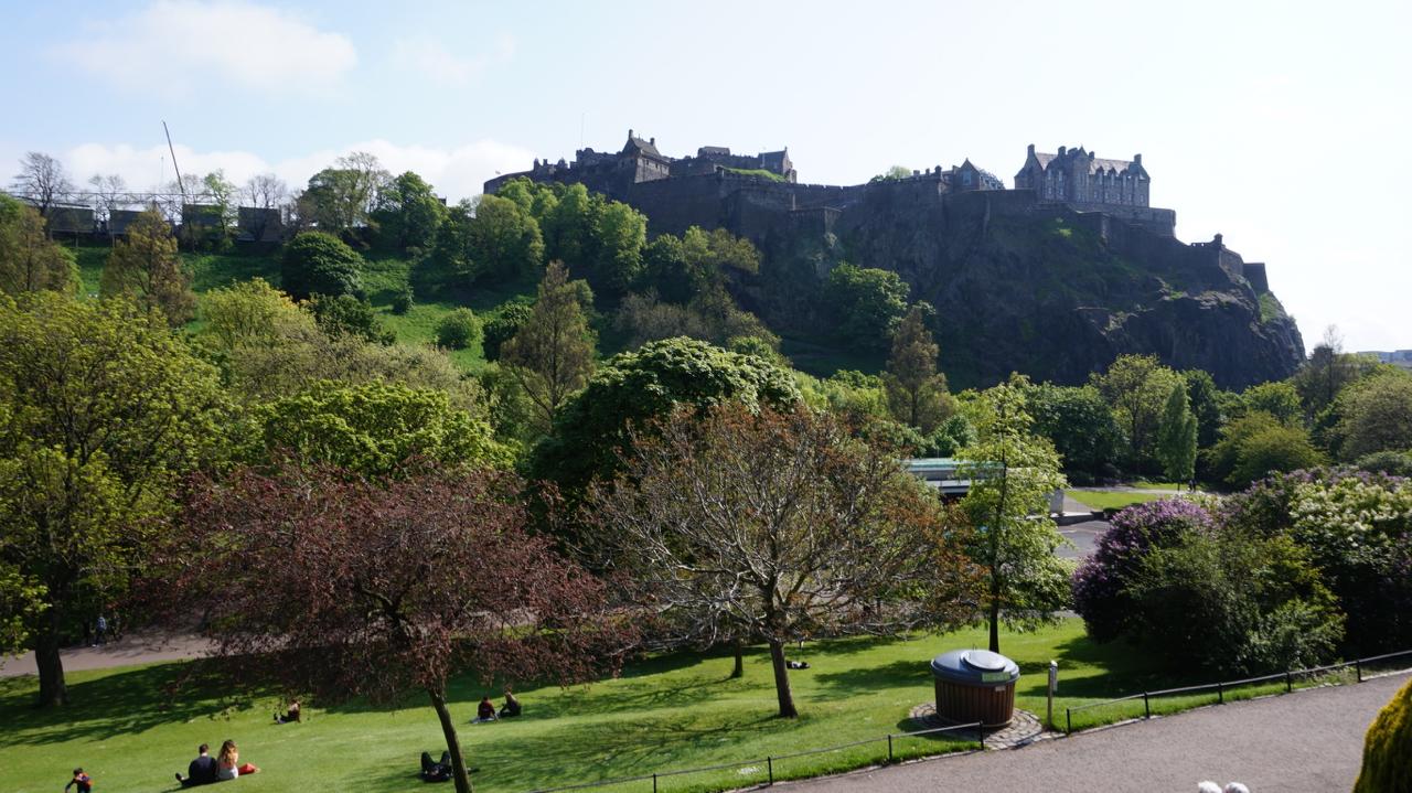 Princes Street Gardens West Locations Film Edinburgh