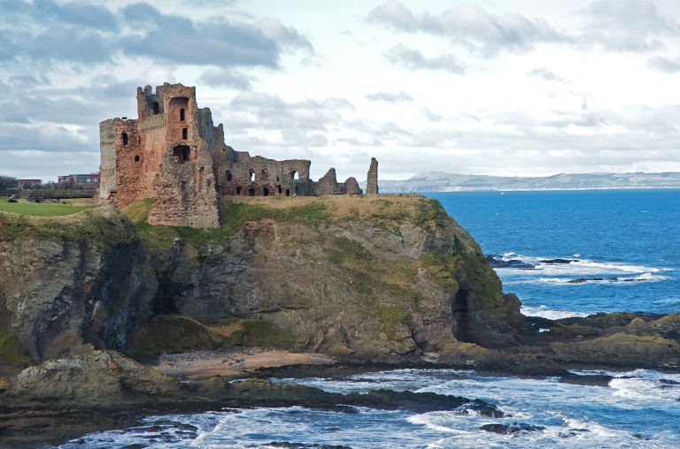 Tantallon Castle Locations Film Edinburgh