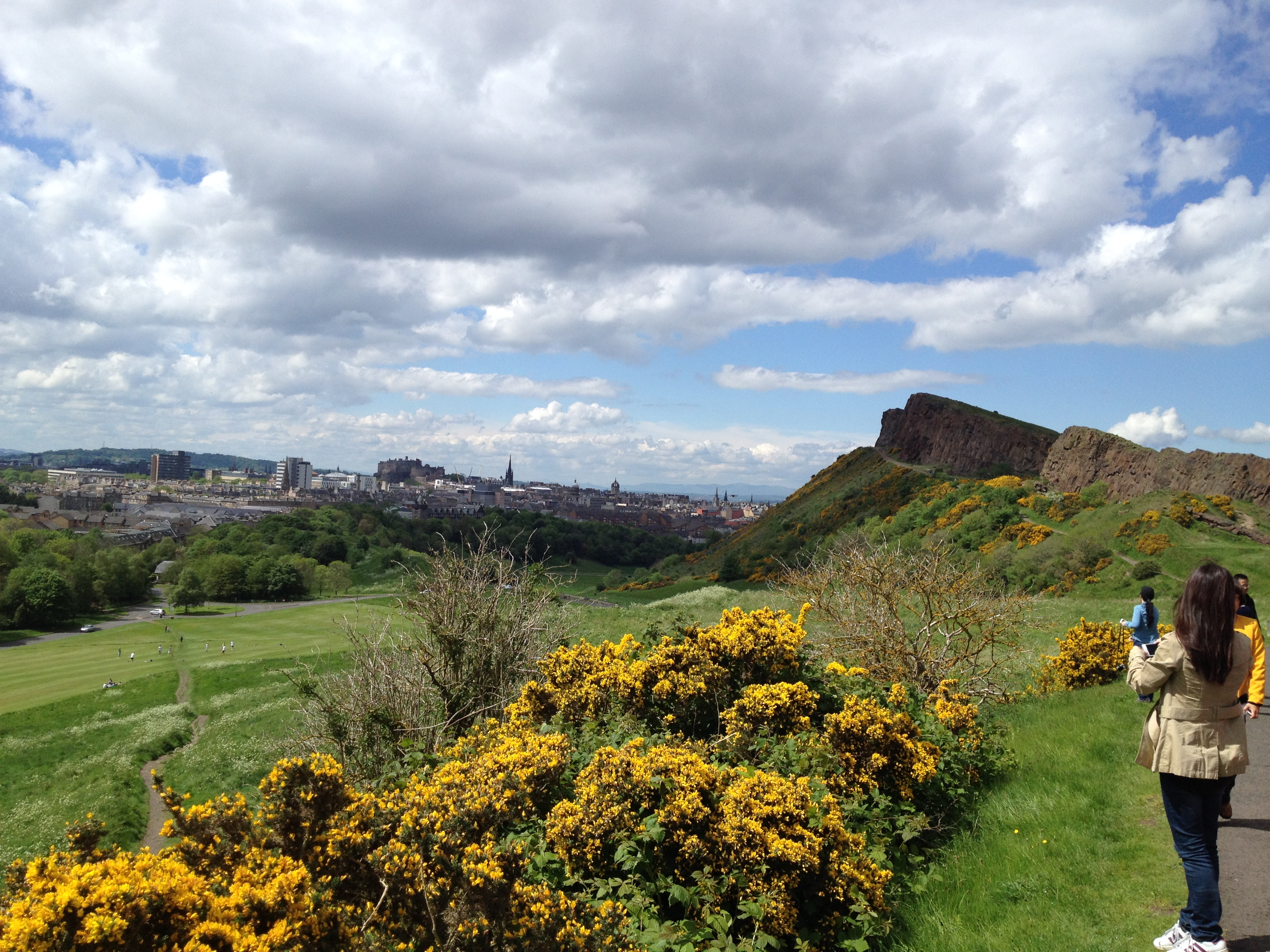 Arthursseat Crags May14 Arthurs Seat Locations Film