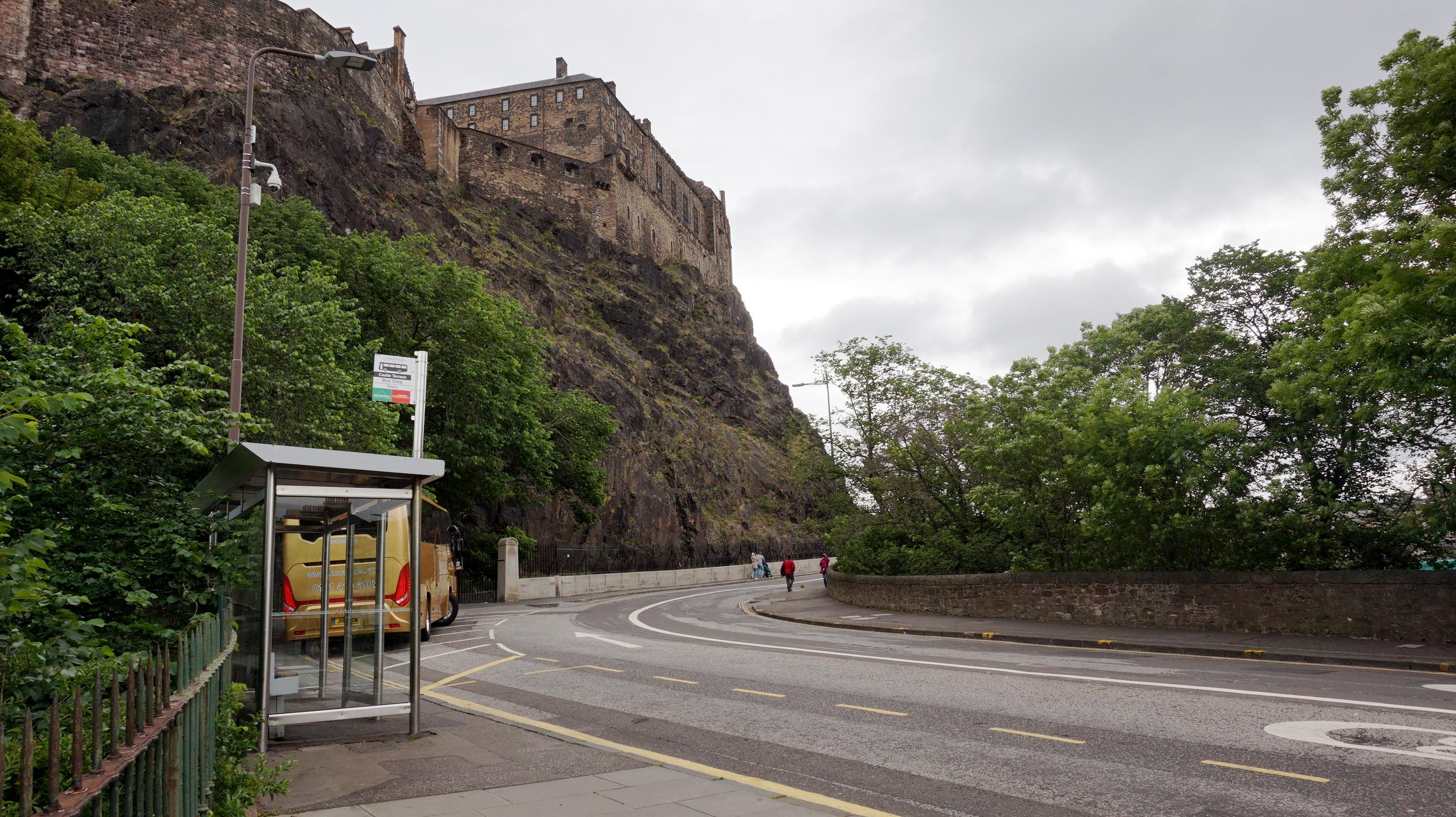 Johnston Terrace Locations Film Edinburgh