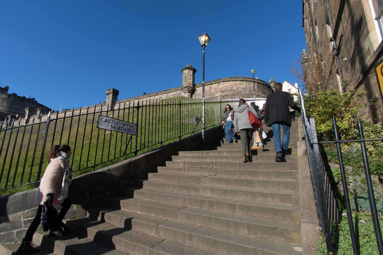 Castle Wynd North Amp South Locations Film Edinburgh