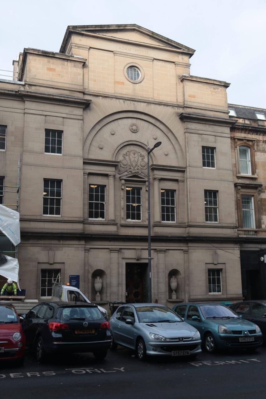 Adam House Locations Film Edinburgh