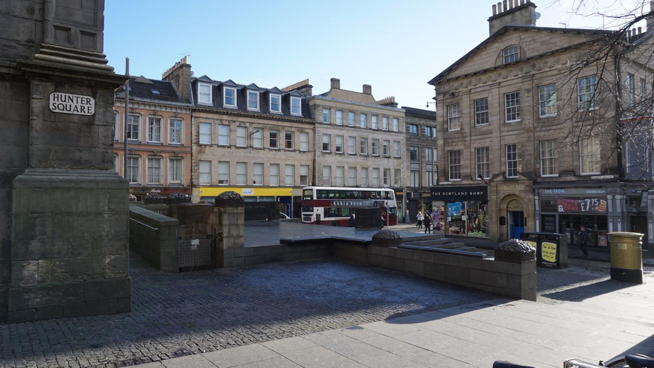 Hunter Square Locations Film Edinburgh