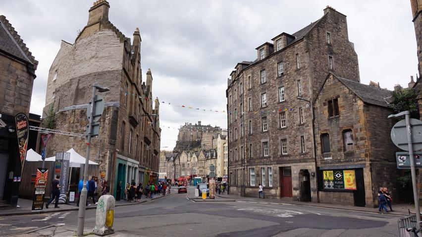 Candlemaker Row Locations Film Edinburgh